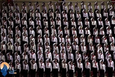 روز ملی ورزش دانش آموزی _ کره شمالی