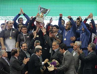 قهرمانی مقتدرانه ایران در جام جهانی کشتی آزاد _تهران
