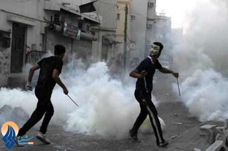 تظاهرات ضد حکومتی در منامه _ بحرین