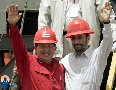 سفر احمدی نژاد به ونزوئلا در سال2006