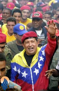 چاوز در جریان مبارزات انتخاباتی