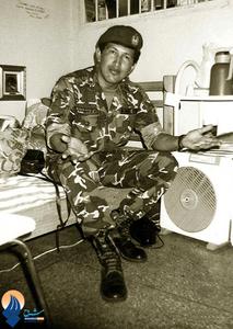 چاوز در زندان نظامی بعد از کودتای نافرجام سال1992