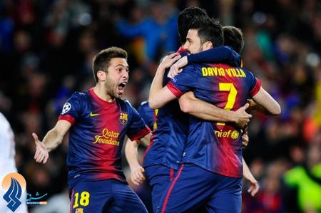بارسا با پیروزی 4 بر 0 برابر میلان توانست جواز حضور در مرحله بعدی لیگ قهرمانان اروپا را کسب کند.