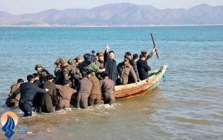 بازدید رهبر کره شمالی از جزایر نزدیک به آبهای کره جنوبی