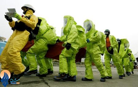 آمادگی نیروهای امداد و نجات کره جنوبی در برابر حملات احتمالی شیمیایی کره شمالی _ سئول