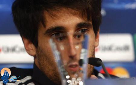 مارتینز بازیکن بایرن در نشست خبری قبل از بازی با بارسا