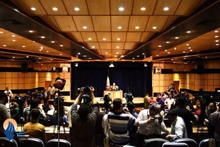 حضور محمدباقر قالیباف در محل ثبت نام نامزدهای انتخابات ریاست جمهوری در وزارت کشور