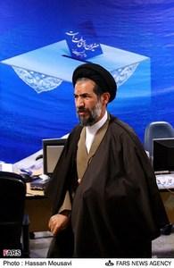 حضور حجت الاسلام ابوترابی در محل ثبت نام نامزدهای انتخابات ریاست جمهوری در وزارت کشور