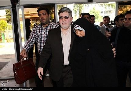 حضور علی اکبر جوانفکر در محل ثبت نام نامزدهای انتخابات ریاست جمهوری در وزارت کشور