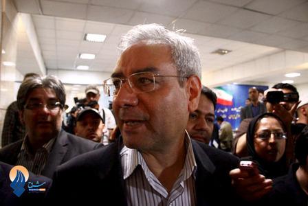 حضور ابراهیم اصغرزاده در محل ثبت نام نامزدهای انتخابات ریاست جمهوری در وزارت کشور