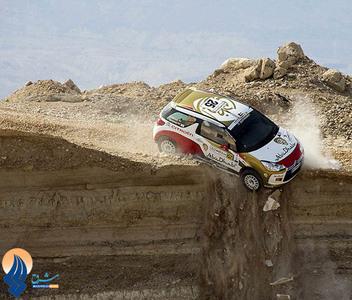 خوش اقبالی راننده ایرلندی در رالی اردن