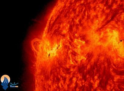 رصد آخرین فعالیتهای خورشیدی توسط تلسکوپهای ناسا