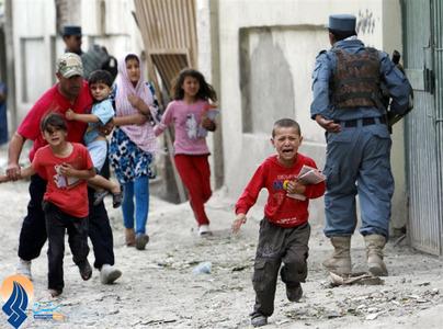 درگیری خیابانی نیروهای امنیتی افغان با افراد طالبان در کابل _ پاکستان