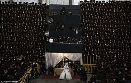 عروسي عجيب يهوديها+ تصویر