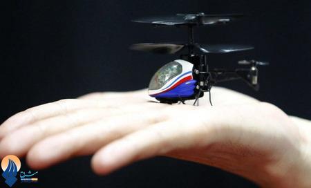 کوچکترین بالگرد کنترل از راه دور در نمایشگاه اسباب بازی _ ژاپن
