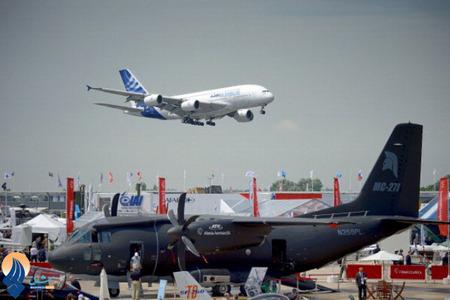 نمایشگاه هوایی 2013 پاریس _ فرانسه