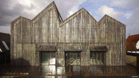 ساختمان چوبی موزه آمستردام _ هلند
