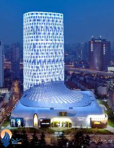 برج تجاری چانگ نینگ در شانگهای _ چین