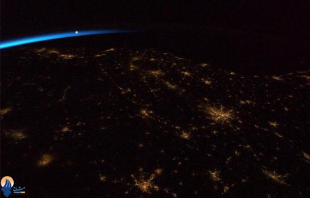 جنوب شرقی ایالات متحده آمریکا فبل از طلوع آفتاب