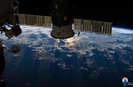 ابرهای طوفانی بر فراز سواحل برزیل