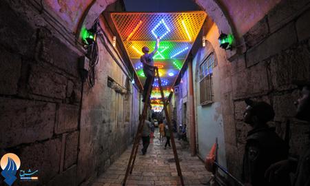 استقبال از ماه رمضان در فلسطین اشغالی