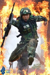 آموزش ویژه سربازان ارتش چین