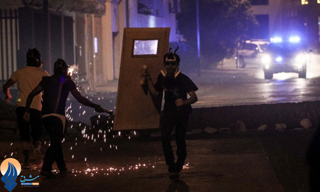 تظاهرات ضد حکومت آل خلیفه در خیابانهای منامه _ بحرین