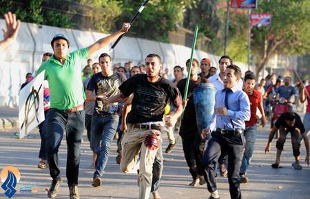 ادامه درگیریها در خیابانهای قاهره