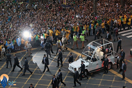 سفر پاپ فرانسیس به برزیل