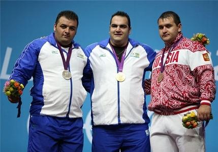 قهرمانی بهداد سلیمی و نایب قهرمانی سجاد انوشیروانی در مسابقات وزنهبرداری المپیک لندن و کسب عنوان قویترین ورزشکار جهان توسط نماینده ایران