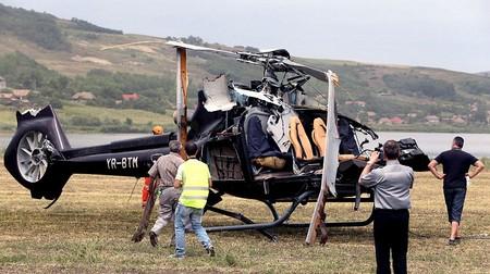 سقوط یک بالگرد شخصی در رومانی