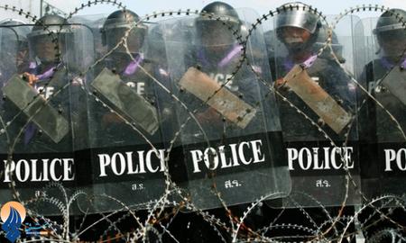 تدابیر شدید امنیتی پلیس بانکوک به دلیل اعتراضات مردمی روزهای گذشته
