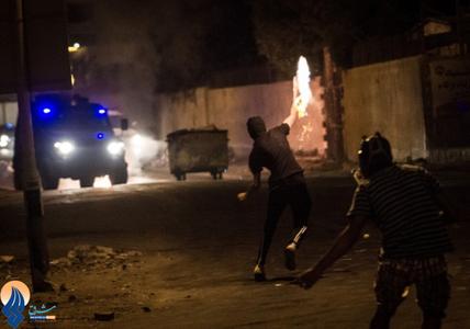 درگیری انقلابیون بحرینی با نیروهای آل خلیفه در روستای آل سیبا