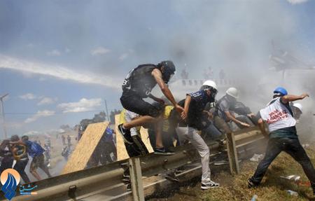 ادامه اعتراضات ضد دولتی در ترکیه