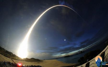 نمایی جالب از پرتاب موشک H-B2 در جزیره تانگاشیما _ ژاپن
