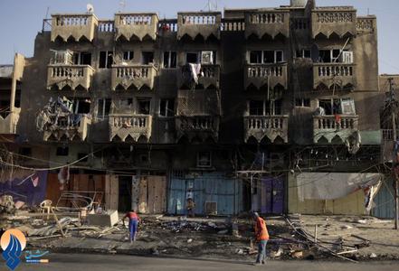 انفجار خودروی بمب گذاری شده در بازار بغداد