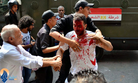 حمله ارتش مصر به حامیان مرسی در قاهره