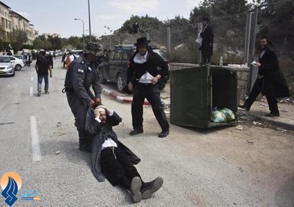 تظاهرات خشونت بار اسرائیلیها علیه ساخت شهرکهای جدید در مکانهای مقدس توسط دولت