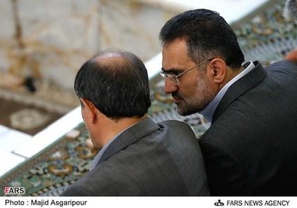 حضور حسینی و محمدنجار در نماز جمعه تهران