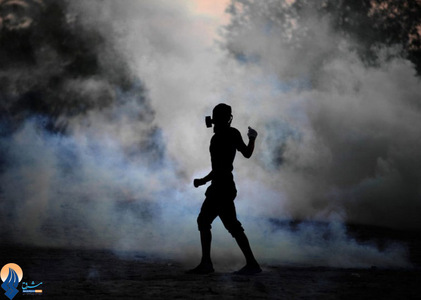 ادامه درگیریها در شهر مالکیه میان جوانان و ماموران آلخلیفه _ بحرین