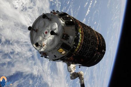 ارسال محموله غذایی توسط یک سفینه باری ژاپنی برای ایستگاه فضایی بین المللی