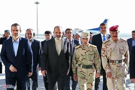 سفر سردار احمد وحیدی به عنوان وزیر دفاع ج.ا.ایران به عراق