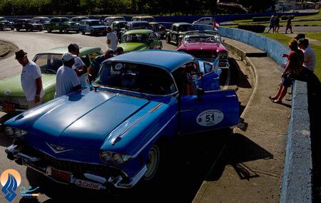 جشنواره خودروهای کلاسیک در هاوانا _ کوبا