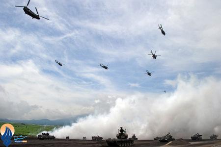مانور مشترک نظامی ارتش ژاپن