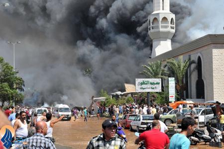 30 کشته بر اثر انفجار دو بمب جداگانه در شهر طرابلس در شمال لبنان