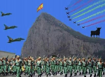 این تصویر را فرماندار اسپانیایی تنگه جبل الطارق در صفحه اجتماعی خود به تازگی منتشر کرده است.