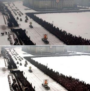 روزنامه کره ای به دلیل نامعلومی خبرنگاران را از گوشه مراسم درگذشت رهبر کره شمالی حذف کرد.
