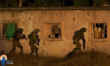 استقرار سربازان رژیم صهیونیستی در ارتفاعات جولان در مرز با سوریه