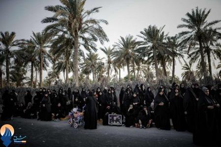 تظاهرات ضدحکومتی زنان بحرینی