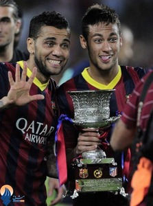 قهرمانی بارسلونا در سوپرکاپ اسپانیا